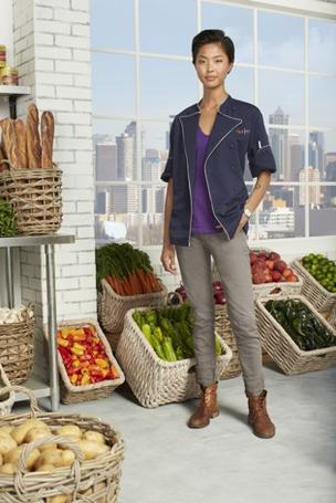 Boston chef Kristen Kish is off the reality cooking program Top Chef.
