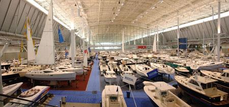The New England Boat show runs from Feb. 16 through Feb. 24 at the Boston Convention & Exhibition Center.