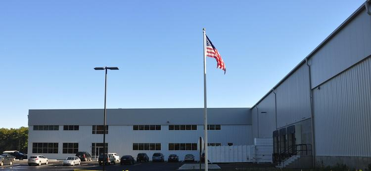 The new Eastman St. Woodworks plant in Easton.