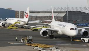 Japan Airlines bucked the trend at Logan Airport by adding flights in 2012, although its Dreamliner flights were grounded this week due to safety concerns.
