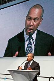 Deval Patrick's pick: Patrick will likely get to name the interim senator to replace John Kerry, before a special election can be held in early 2013. Patrick, who also got to appoint Paul G. Kirk Jr. as interim senator after the death of Ted Kennedy in 2009, has made clear that he wants to pick someone who won't run in the special election, making his choice a temporary one (premium content).