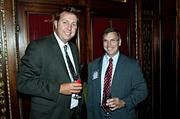 AAF co-workers David Turner and Dave McMagus at the Boston Business Journal's Best Places to Work event.