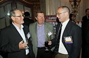Safety Insurance Company's Ed Patrick, Jim Berry and Chirs Harrison claimed they were networking at the Boston Business Journal's Best Places to Work event as they're each from a different department. Wonder if they exchanged business cards?