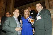 A trio from the Start Group at the Boston Business Journal's Best Places to Work event Jon Kujala, Samantha Melchiorri and Matt Ovanes.