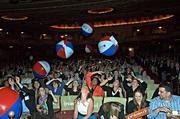 Having a ball at the Citi Performing Arts Center Wang Theatre were attendees of the Boston Business Journal's Best Places to Work awards presentation.