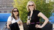 Behind the sunglasses at the Boston Business Journal's 2012 End of Summer Party were the Colonnade Hotel's Jessica Ingis and Cassandra Conover.