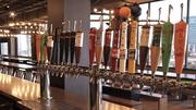 Why have glasses without a lot of taps? From Harpoon IPA through the brewery's 100-barrel series to its pilot brews, everything Harpoon makes is on tap.
