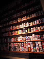 More importantly, Harpoon's beer-can collection will remain in place. It occupies a proud position in the cozy, old tasting room, but might seem out of place in the high-ceilinged new beer hall.