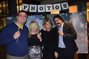 Boston-based BzzAgent's holiday party was held on December 18 at the new Italian eatery Cinquecento in the South End. BzzAgent founder Dave Balter is on the far right.