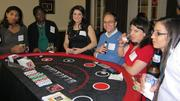 Casino royale at the Massachusetts Bar Association holiday party.