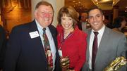 At the Medical Development Group's holiday party at Bertucci's in Waltham:Dick O'Brien, president of MDG; Lisa Sasso, president of Medical Development Partners and MDG Board Member; and Joe Berkowitz of BPA Insperity and co-chair networking events at MDG.
