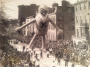"Each year, Jordan Marsh held Boston's own version of the more famous Macy's Thanksgiving Day Parade – the ""Santason Parade."" The name is reputedly a play on the phrase, ""Santas on parade."" Popeye appeared in 1937."