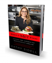 """Kathy Sidell, founder and owner of the Met Restaurant Group, recently released her new book, a cross between a memoir and cookbook, called """"When I MET Food."""""""