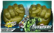 "The Avengers Gamma Green Smash Fists ($14) ""enable three year olds to 'be incredible like The Hulk' by 'smashing everything that gets in [their] way!' writes toysafety.org. ""No warnings or cautions are provided."""