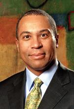 Massachusetts Gov. Deval Patrick.