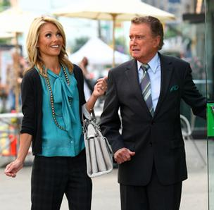 TD Bank ad still with Regis and Kelly.