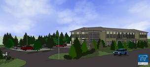 Artist rendering of Maine Standards Company's new facility in Cumberland, Maine.