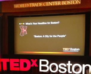 TEDx Boston attracted hundreds to the Seaport World Trade Center last Friday.