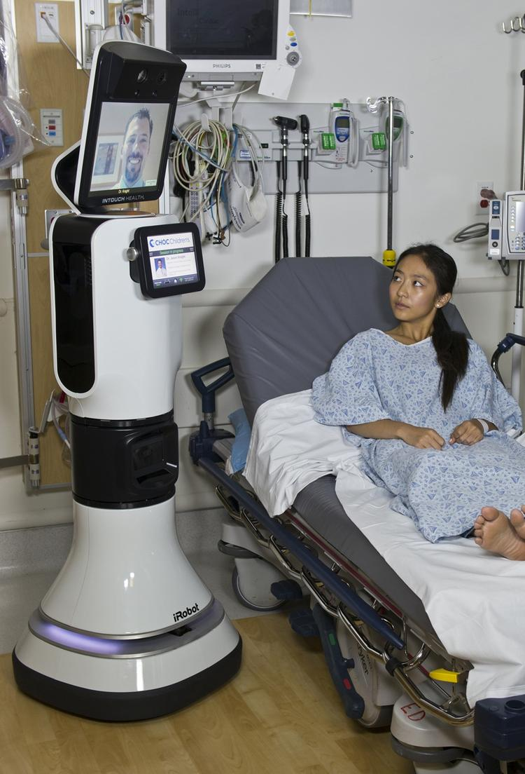 The RP-VITA is iRobot's first foray into the healthcare market.