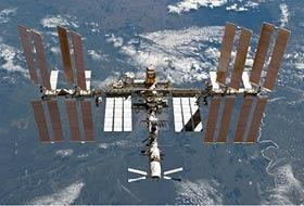 Using Optimal Propellant Maneuvering, the International Space Station was able to be moved into position Wednesday so a supply cargo vessel could dock with it using a fraction of the fuel it would normally require.
