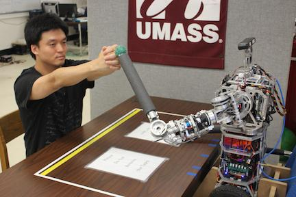Speech pathologist Yu-kyong Choe was awarded a $109,251 grant to study robot-aided rehabilitation.