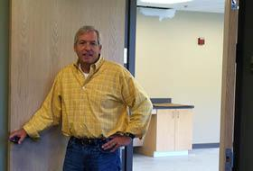 Bill Floyd, president and CEO of CSA Medical, in the company's new Lexington facility.