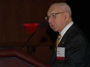 MassTLC honoree and BBN co-founder Leo Beranek