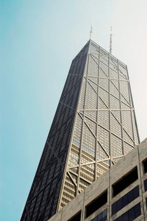 American Tower Corp. is acquiring the 93rd and 97th floors and the rooftop of the John Hancock Center in Chicago, Ill.