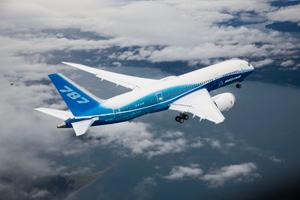 A file photo of Boeing's 787 Dreamliner aircraft.