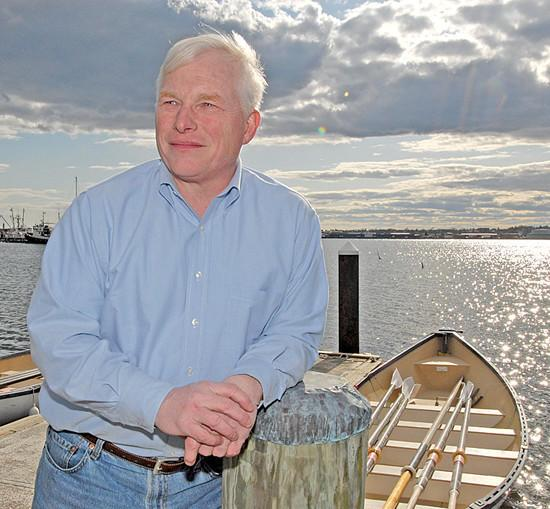 John Miller, the acting director of the new Marine Renewable Energy Center, is ready to set sail.