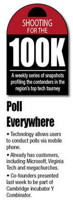 Startup Poll Everywhere conducts polls through cell phones