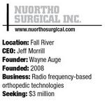 NuOrtho Surgical repairs tissue with radio waves