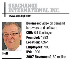 SeaChange to sell broadcast, storage business