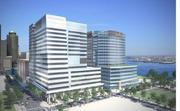 Fan Pier: Site of the new Vertex Pharmaceuticals headquarters, Fallon Company's $800 million, two-building project at 50 Northern Ave. is set to open late this year.
