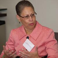 Susan Windham-Bannister, president and CEO, Massachusetts Life Sciences Center, and panelist on the Mass High Tech All-Stars Thought Leadership Roundtable