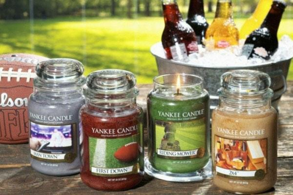 """Yankee Candle Company's """"Man Candles"""" are reportedlythe scented candle maker's top seller, a month after launch."""