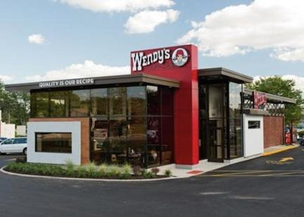 The new Wendy's restaurant in Franklin showcases the restaurant chain's new, upscale concept.