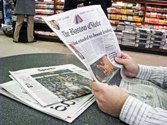 How much is the Boston Globe worth? About $70 million, according to a report of a bid offered by a former Globe president, Rick Daniels, and a Boston private equity firm.