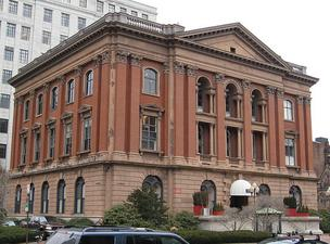 The Museum of Natural History building at 234 Berkeley St. in Boston's Back Bay