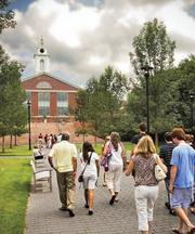 Bentley University: This business-focused school in Waltham had a six-year graduation rate of 88.2 percent, the 9th highest in the state, in 2010.