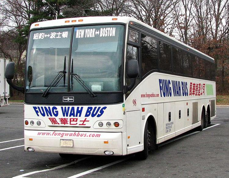The Fung-Wah, a discount bus between Boston and New York, has taken more than three quarters of its fleet off the road due to safety concerns.