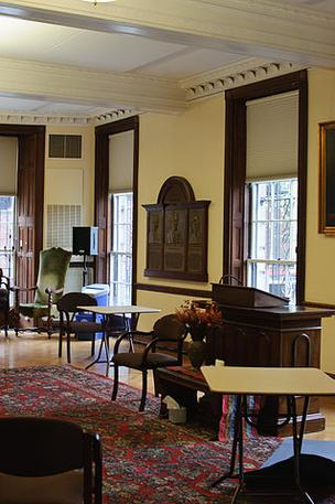 UUA headquarters at 25 Beacon St., interior.