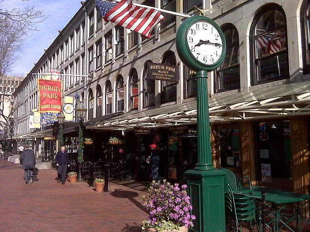 Durgin-Park is expanding from its Faneuil Hall location (pictured) to open a small restaurant in Logan International Airport.