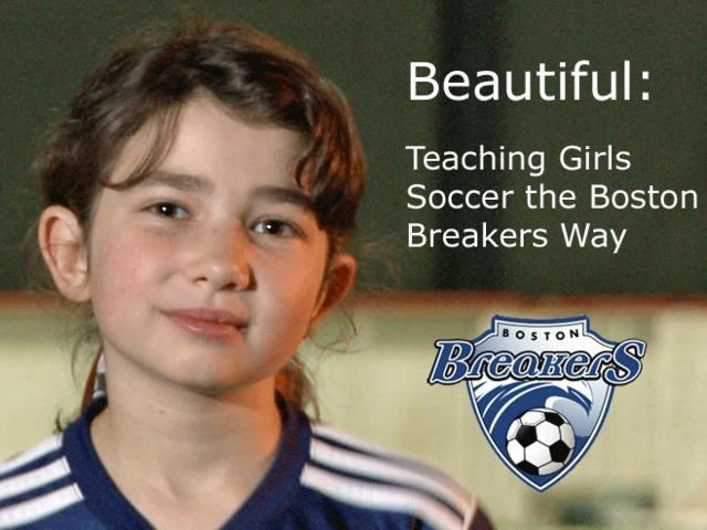 'Beautiful,' a girls soccer instruction video supported by the Boston Breakers, has a wide deficit to erase in the final minutes of its Kickstarter campaign.