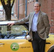In February 2003, Scott Griffith replaced Robin Chase as Zipcar's CEO.