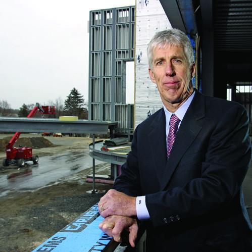 Stephen Laverty resigned as CEO of Northeast Health System nearly four years ago, but still drew more than half a million in severance pay in 2011.