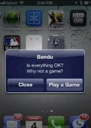"""Bandu, which monitors and treats your stress levels. From the team description: """"We're connecting you to the world based on your stress. Stress is now affecting over 40 million Americans. We aim to deliver the data and applications to help you conquer stress levels."""" YouTube demo here."""