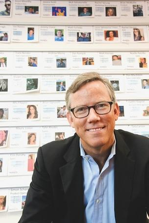 HubSpot CEO Brian Halligan said the company is expanding to Europe due to the large opportunity in selling marketing software to small- and medium-sized businesses outside the U.S.