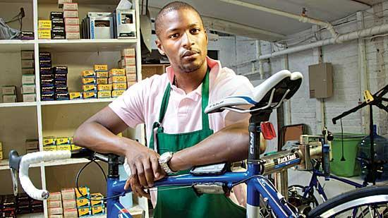 MyBike founder LeRoy Watkins believes there is nationwide demand for the web-enabled bike repair concierge service offered by his company.