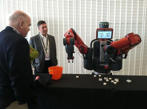 Rethink Robotics' Baxter can currently perform simple manual labor tasks -- thanks to technology which endows the robot with common sense.